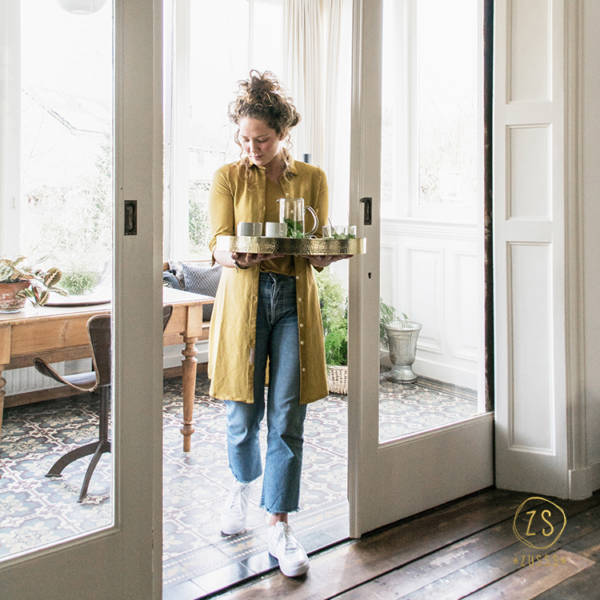 Schaal metaal zusss simpel en puur for Interieur decoratie winkels
